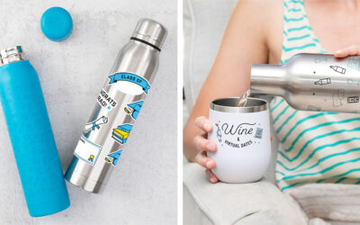Tackle the Day with Personalized Custom Stainless Steel Tumblers