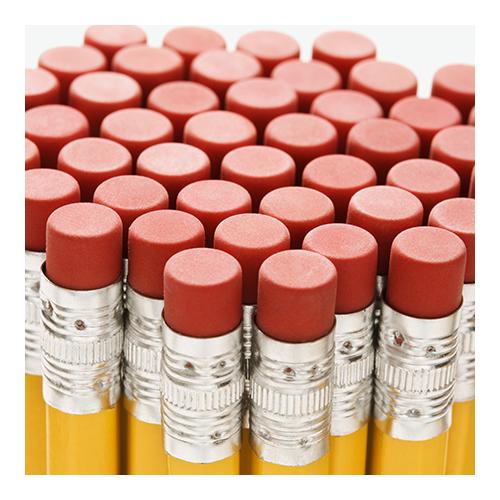 customized erasers